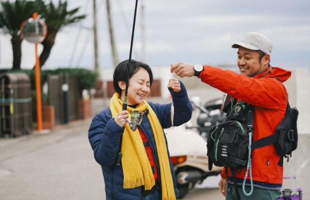 初心者ももれなく楽しめる。三崎の海で、魚釣り!