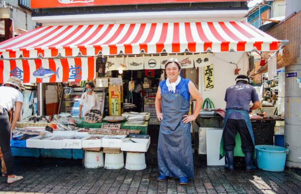 毎朝市場から直送!三崎の超人気店「まるいち食堂」は、味も魚の目利きも天下一品